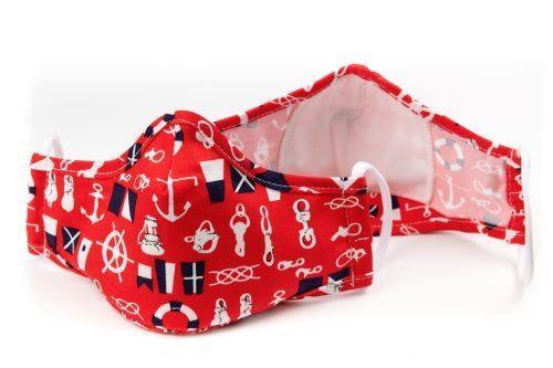Mască textilă de protecție Red SailorRed