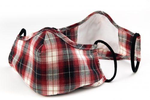 Mască textilă de protecție Summer Plaids