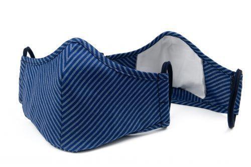 Mască textilă de protecție Dark Lines