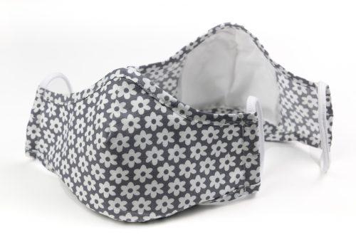 Mască textilă de protecție Grey Field