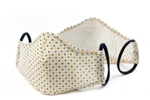 Mască textilă de protecție Light Yellow