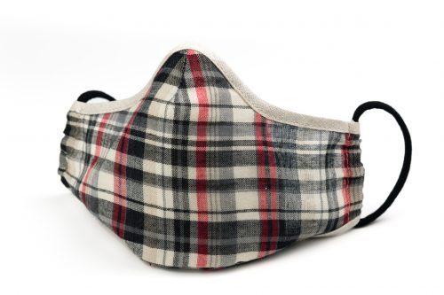 Mască textilă de protecție Rectangles