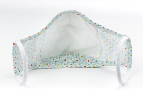 Mască textilă de protecție Baby Blossoms2