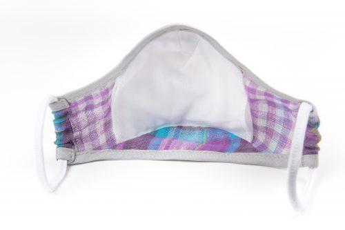 Mască textilă de protecție Lavender Field-spate