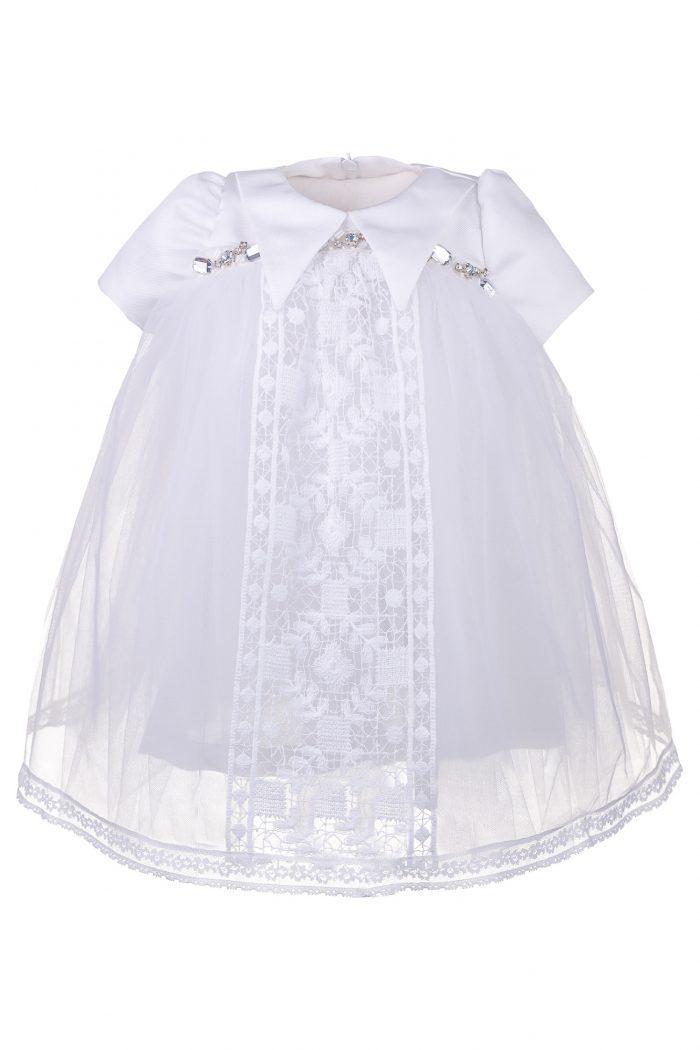 Rochie de botez pentru fetițe Alma