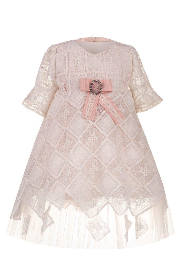 Rochie de botez pentru fetițe Elissa