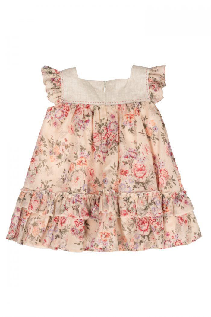 Rochie de botez pentru fetite Rose-spate