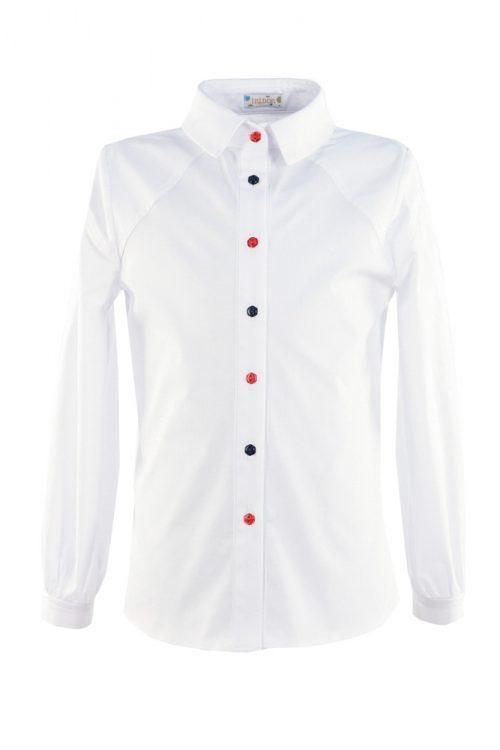 Bluză albă pentru fete Anabel