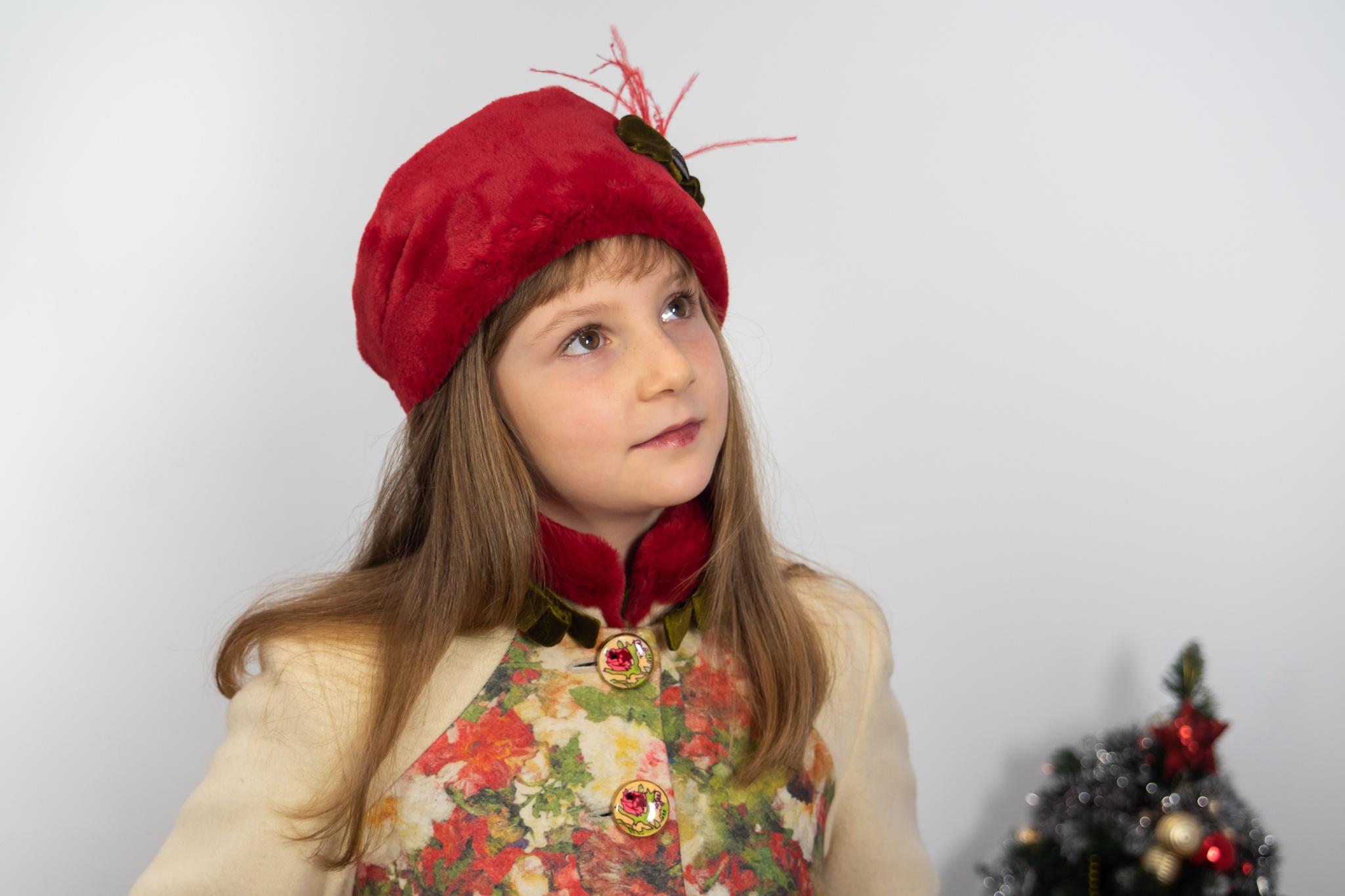 Bentiță de blană pentru fete Anna Karenina