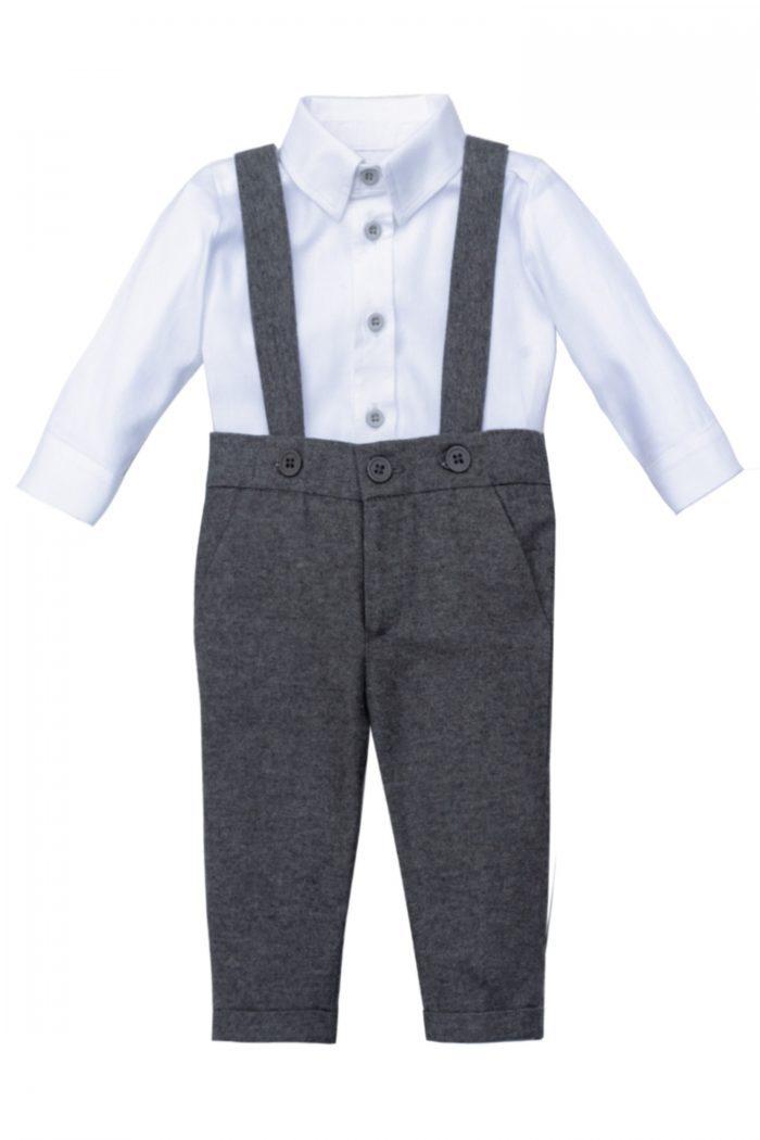 Costum de botez pentru băieței Lio