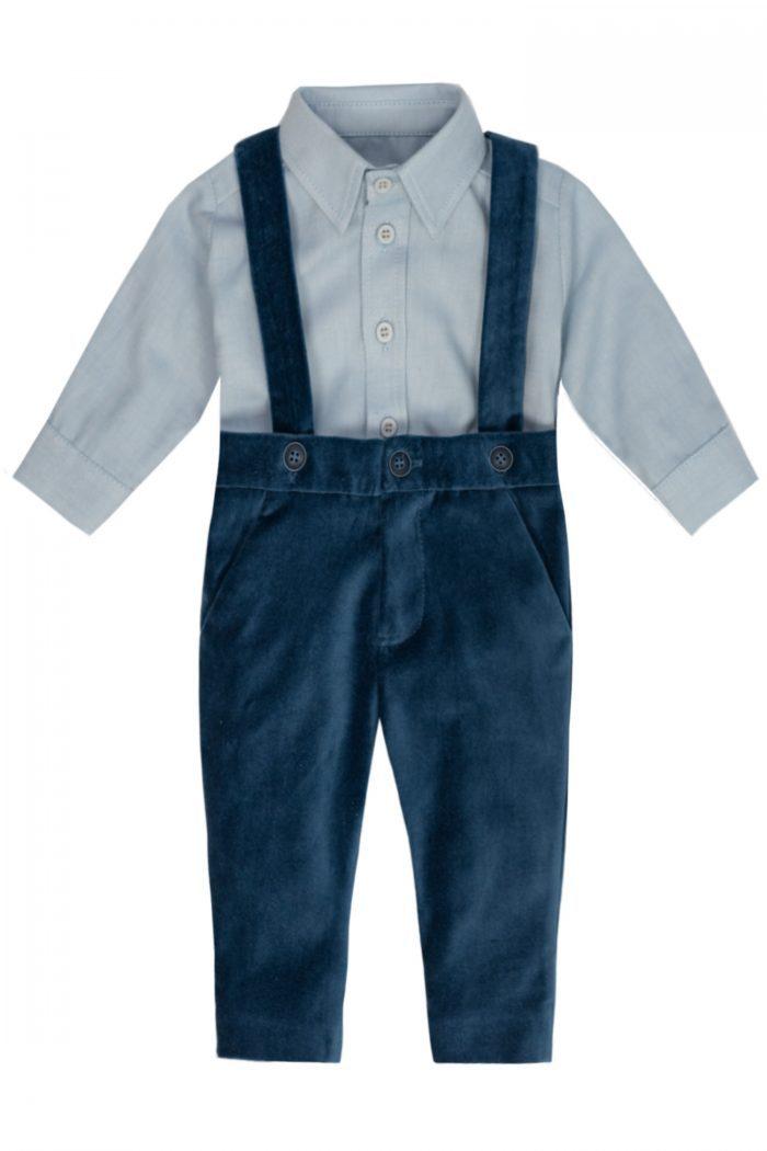 Costum de botez pentru băieți Ennio