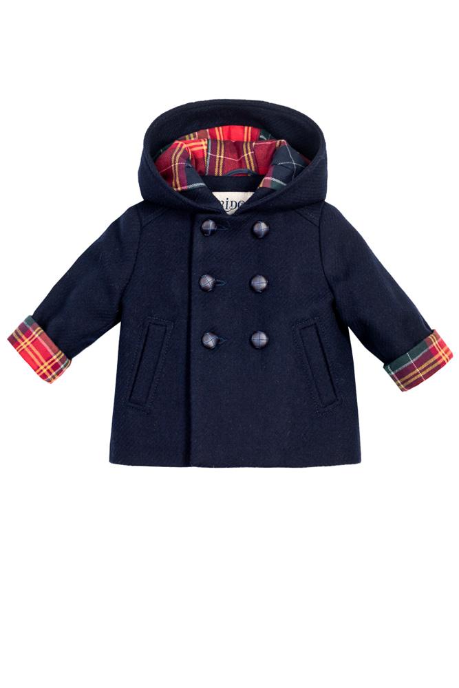 Palton bleumarin pentru bebeluși Nick