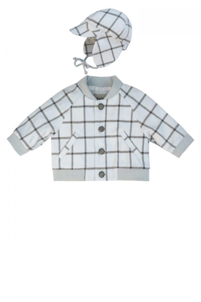 Jachetă bleu pentru băieței Lio