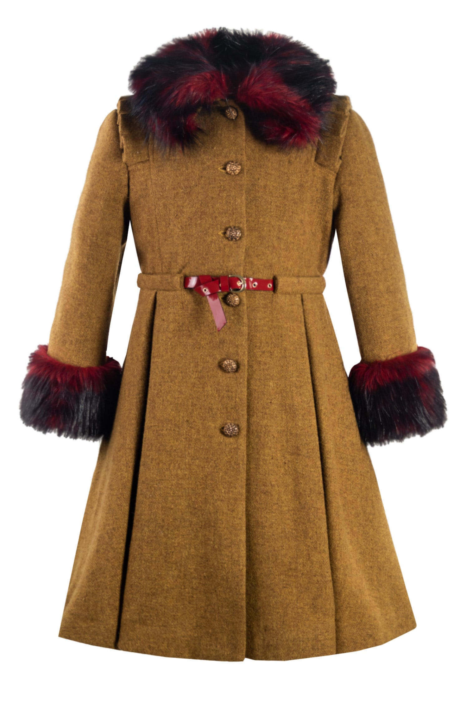 Palton de lână pentru fete Klara