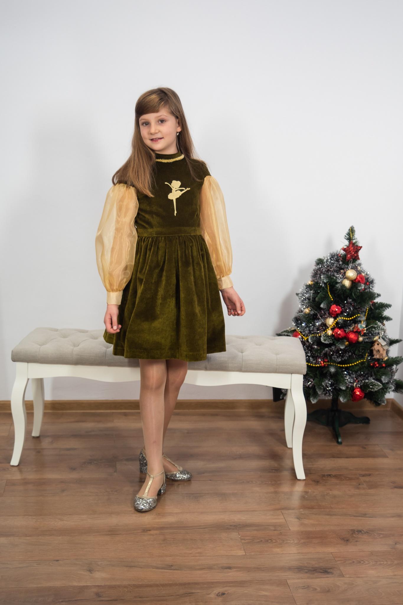 Rochie de iarnă pentru fete Erika 1