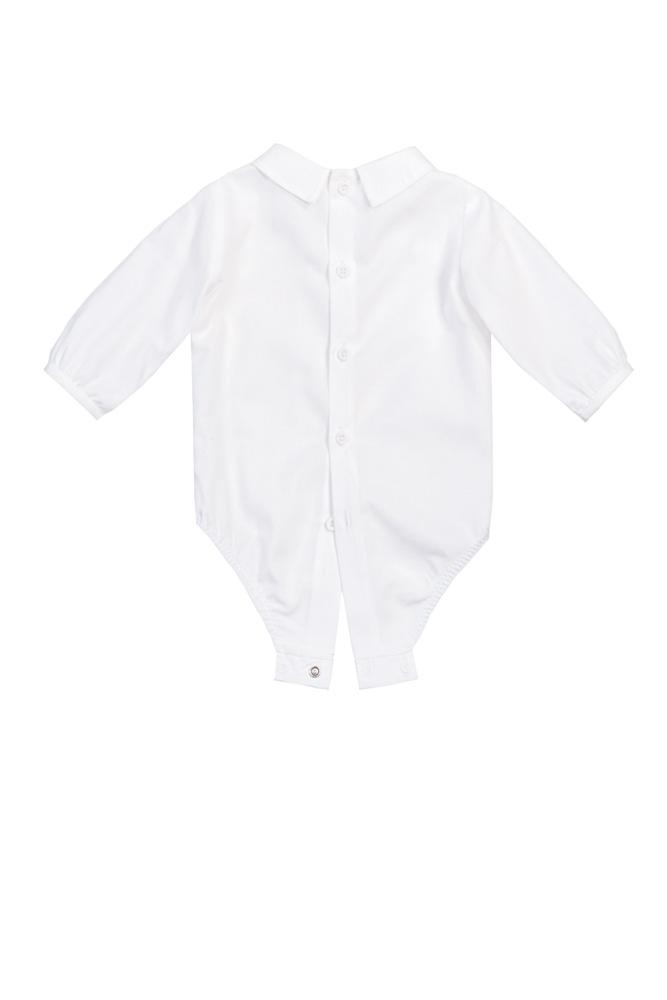 Cămașă-body albă pentru bebeluși Nick - spate