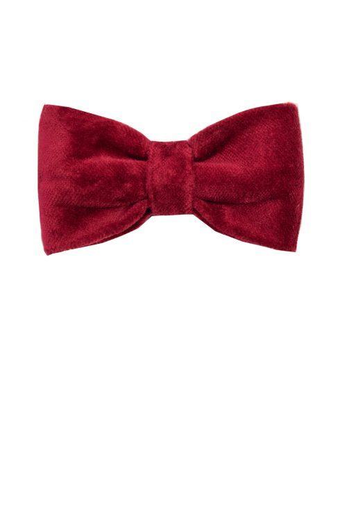 Papion roșu pentru băieței Lio