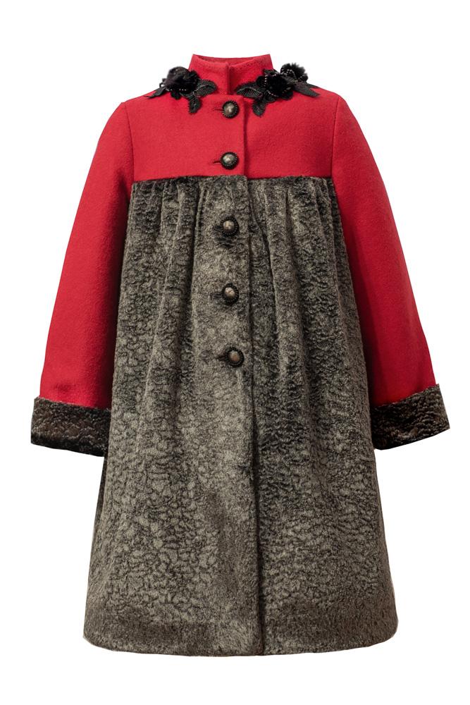 Palton pentru fete Rose - IRIDOR