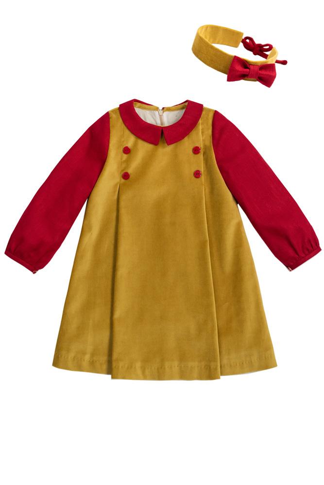 Rochie de iarnă pentru fetițe Larra