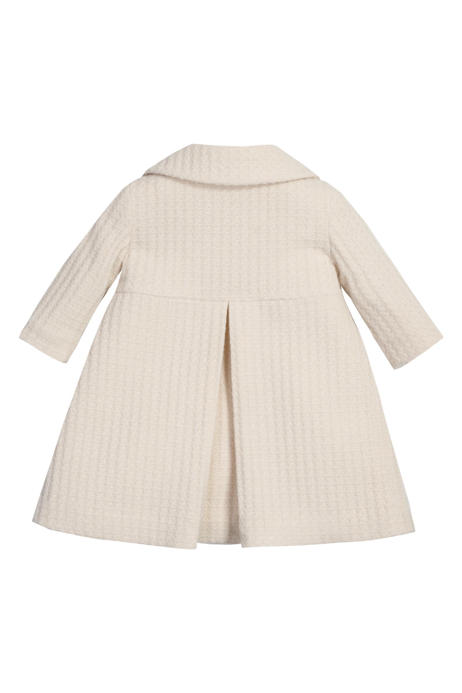 Palton de botez pentru fetițe Ines -spate