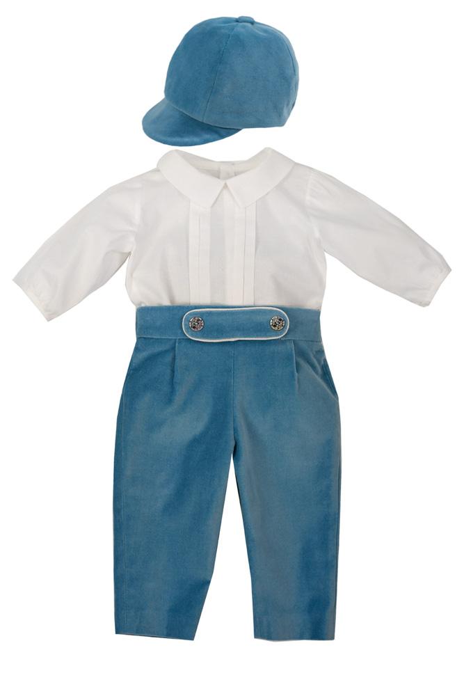 Pantaloni și șepcuță pentru bebeluși Narcis