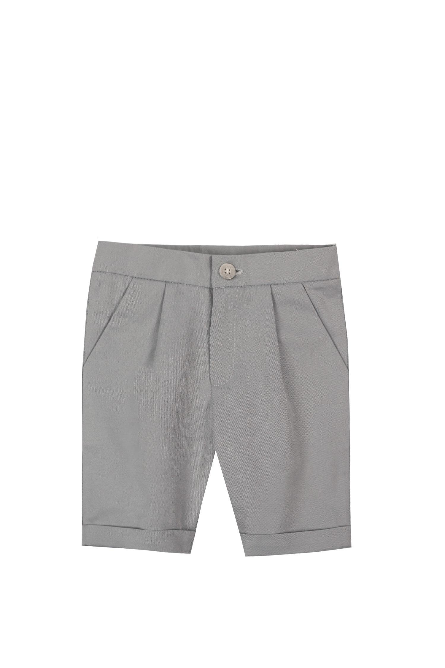 Pantaloni pentru bebeluși Fabio gri