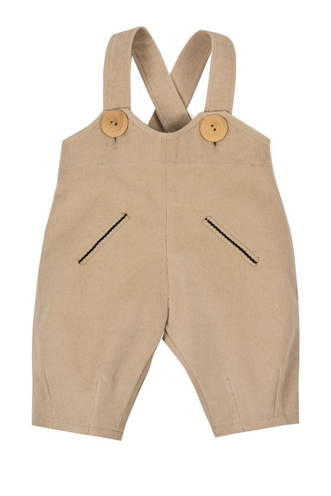 Pantaloni cu bretele pentru bebeluși Aldo