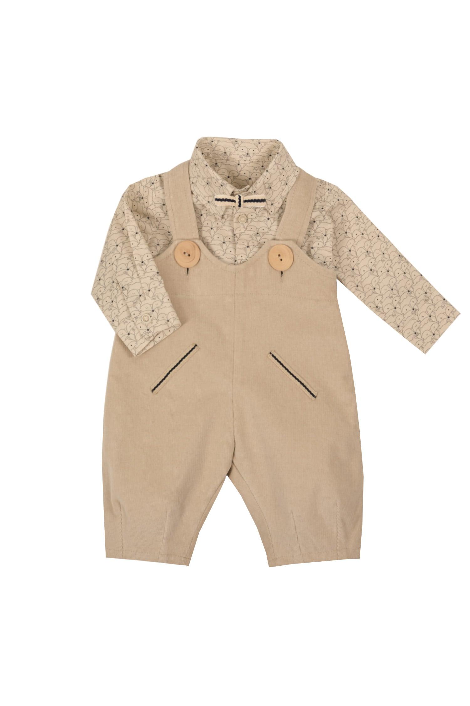 Set cămașă și pantaloni pentru bebeluși IRIDOR