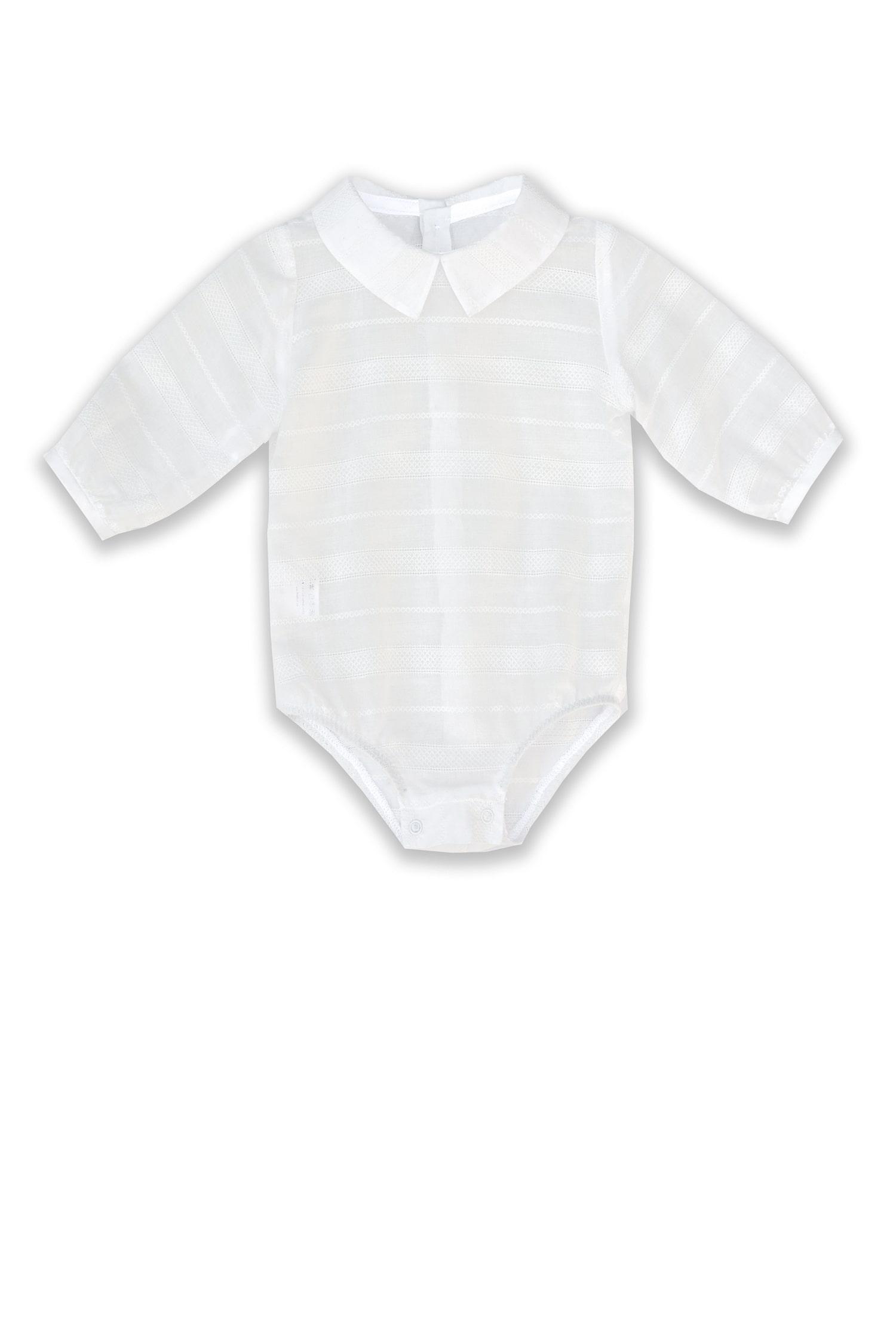 Cămașă albă pentru bebeluși Dante