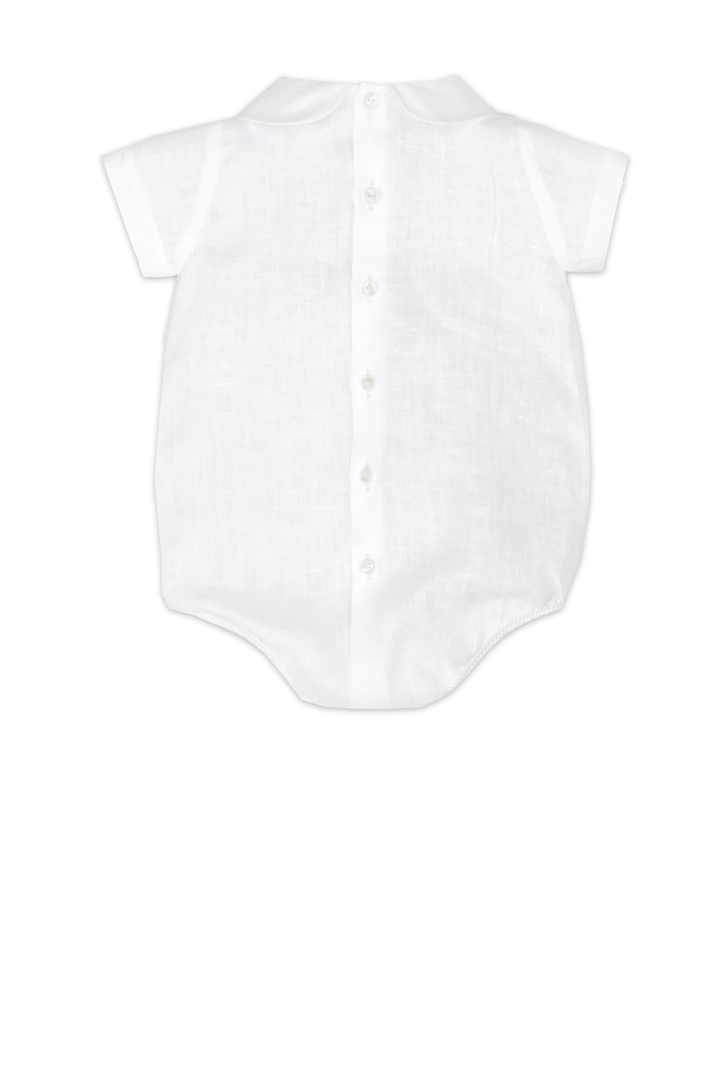 Salopetă de in pentru bebeluși Renato