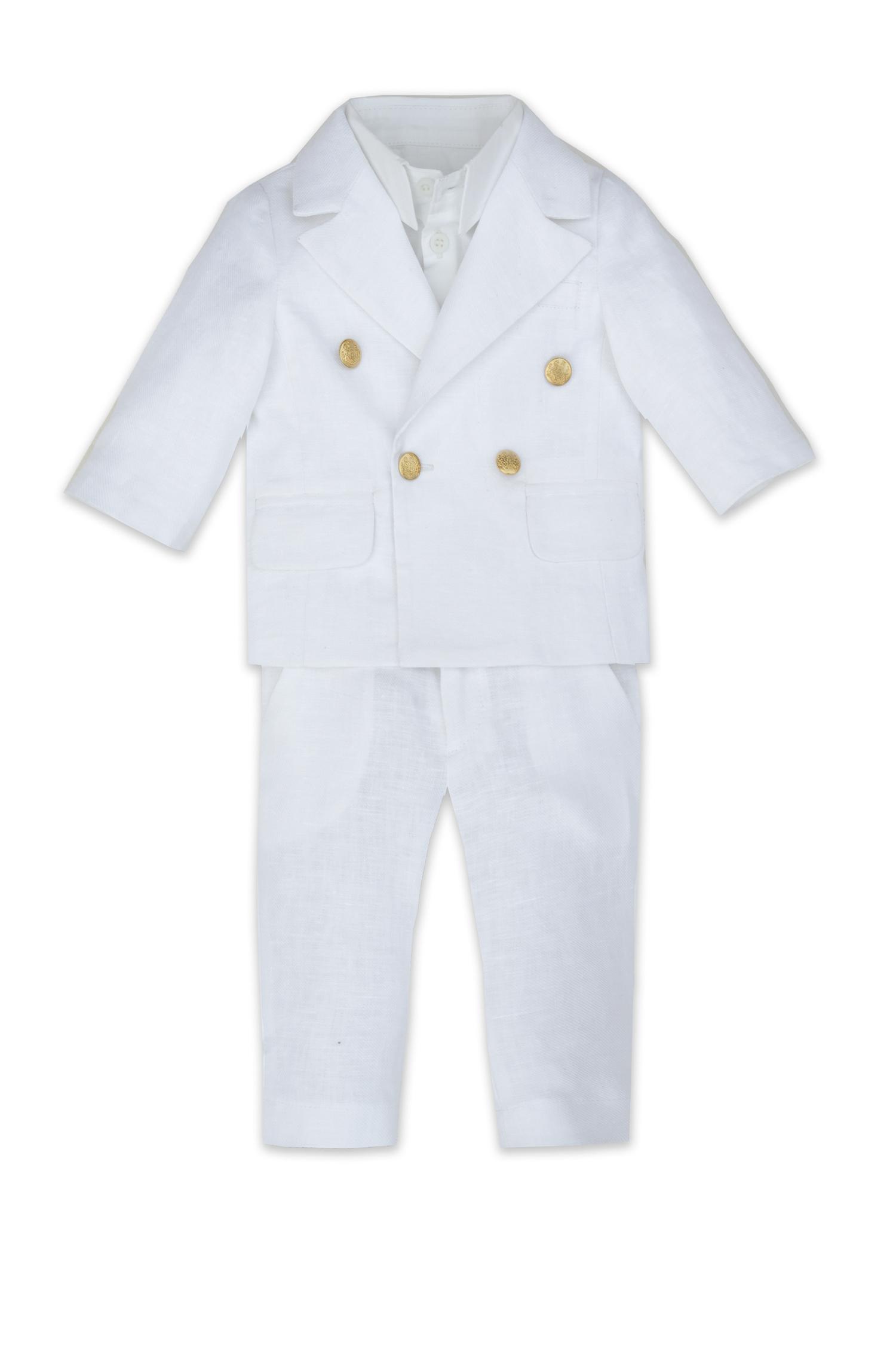 Costum de botez pentru bebeluși Leon