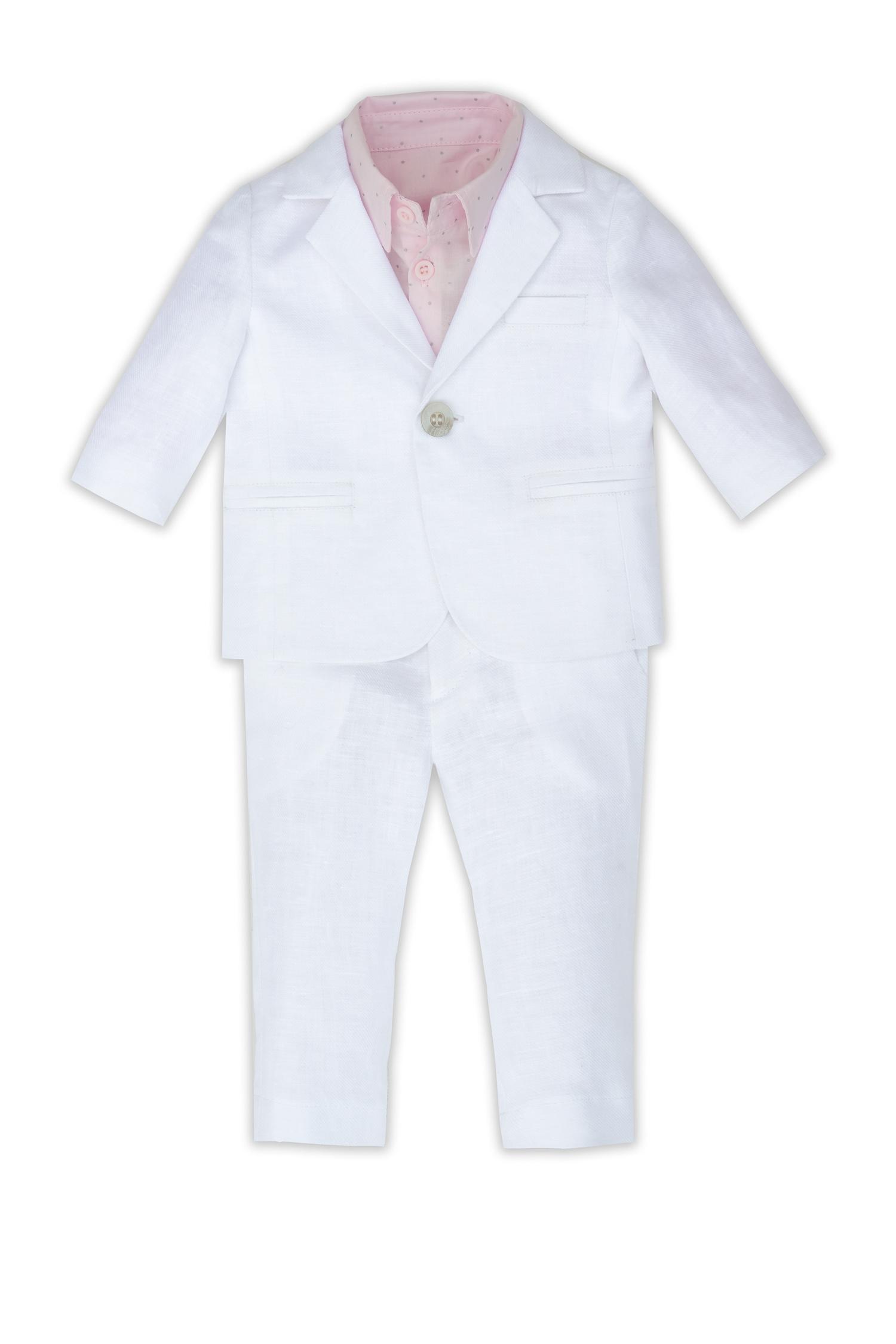 Costum de botez pentru bebeluși Antonio